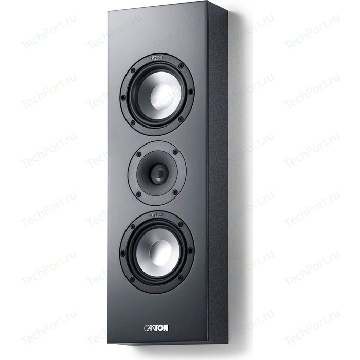 Настенная акустика Canton GLE 417.2 OnWall black кронштейн под акустику canton cantomount xl black