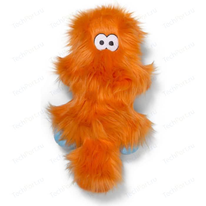 Игрушка Zogoflex Rowdies Sanders плюшевая оранжевая 17 см для собак (West Paw Design)