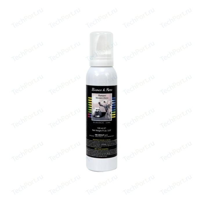 Шампунь Iv San Bernard Black & White Ecologic Line Dry Foam Shampoo сухой для шерсти животных 150 мл