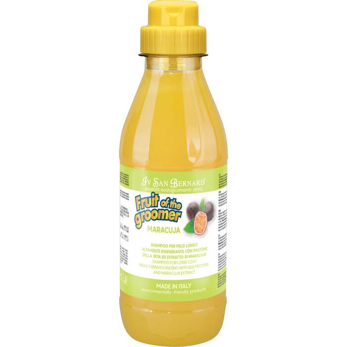 Шампунь Iv San Bernard Fruit of the Grommer Maracuja Shampoo for Long Coat с протеинами для длинной шерсти животных 500 мл