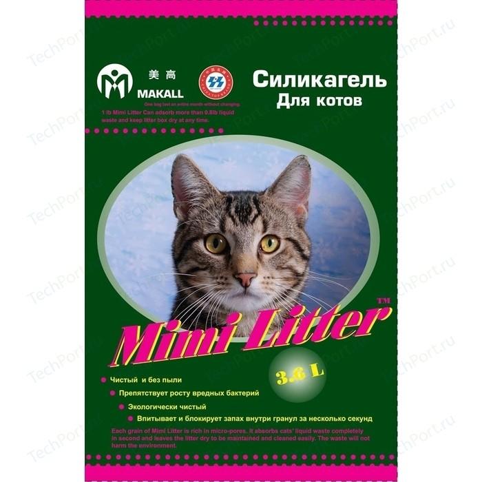 Наполнитель Mimi Litter Силикагель впитывающий для котов 7.2 л (3.6 кг) (М-7220132)