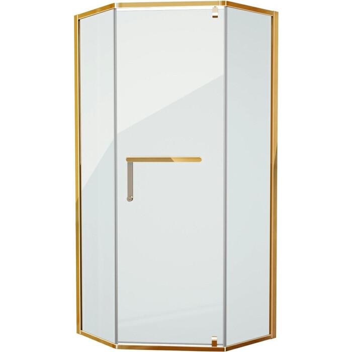 Душевой уголок Grossman 90x90 прозрачный, золото (PR-90GD)