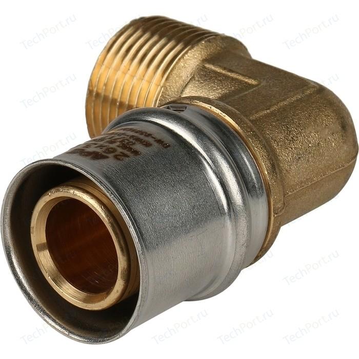 Угольник STOUT переходной с наружной резьбой 3/4 х 26 для металлопластиковых труб прессовой (SFP-0011-003426)
