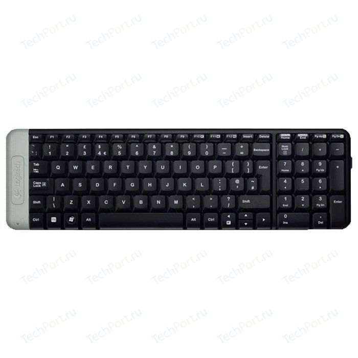 Клавиатура Logitech Wireless Keyboard K230 Black USB (920-003348)