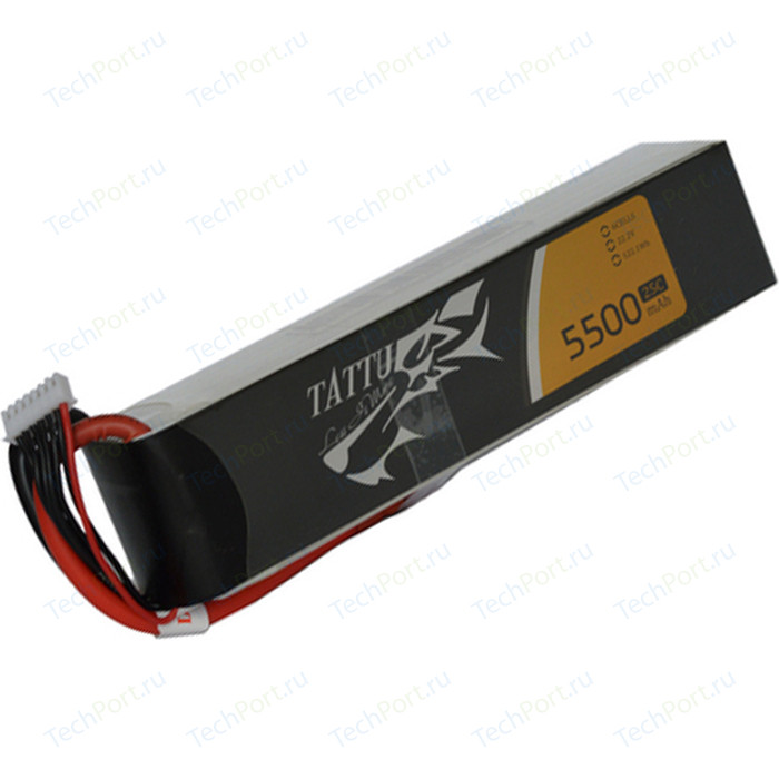 Аккумулятор Gens Li-Po 14.8 V 5500mAh 25C (4S1P) TATTU - B25C55-4S