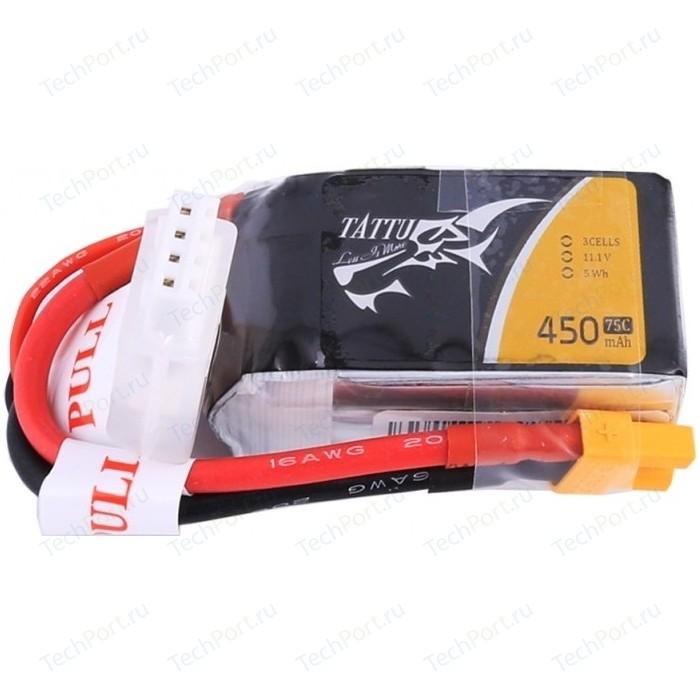 Аккумулятор Gens Li-Po 11.1 V 450 mAh 75C (3S1P)