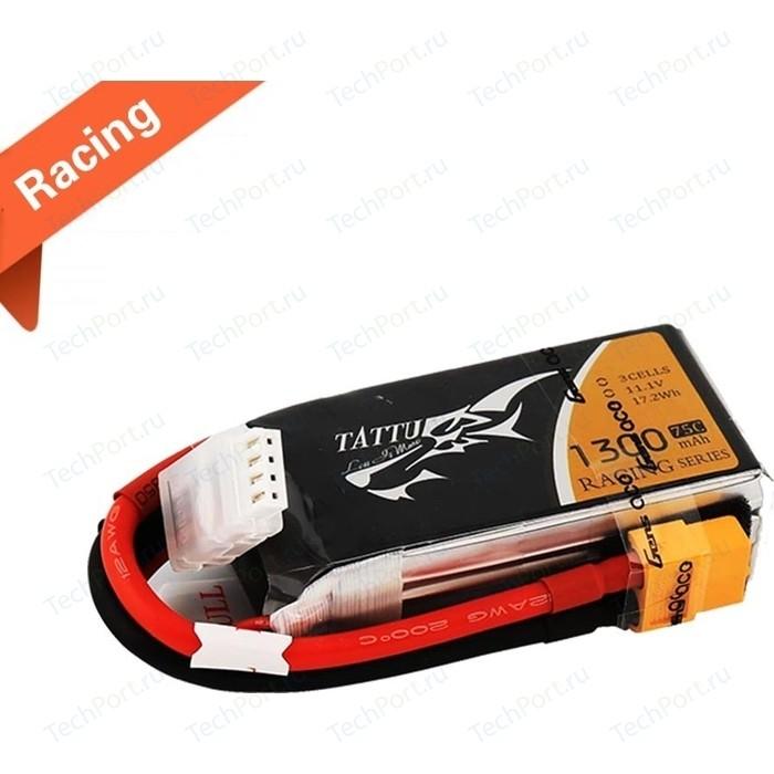 Аккумулятор Gens Li-Po 14.8 V 1300 mAh 75C Racing (4S, XT-60, EC3, Deans) - TA-75C-1300-4S1P-racing