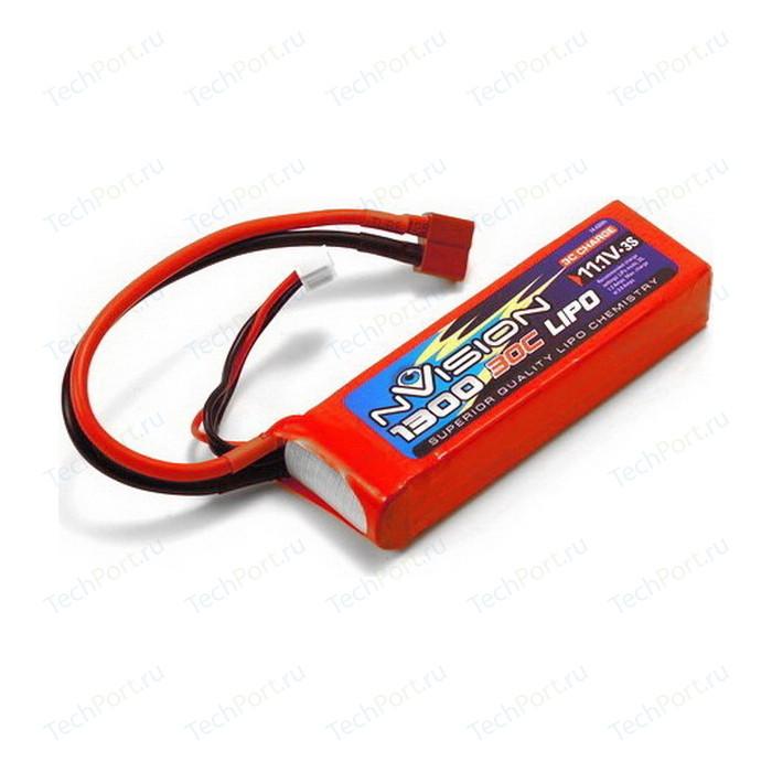 Аккумулятор nVision LiPo 11.1 V 3S 30C 1300 mAh - NVO1808