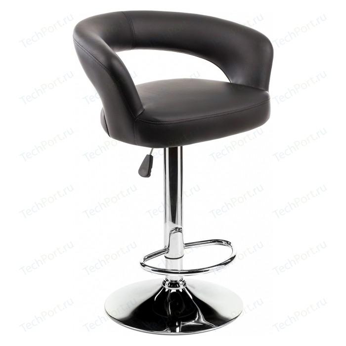 Барный стул Woodville Rim черный