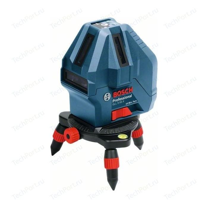 Нивелир лазерный Bosch GLL 5-50X + мини штатив (0.601.063.N00)