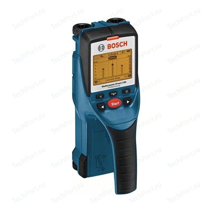 Детектор Bosch D-tect 150 (0.601.010.005) углошлифмашина bosch gws 15 150 cih 0 601 830 522