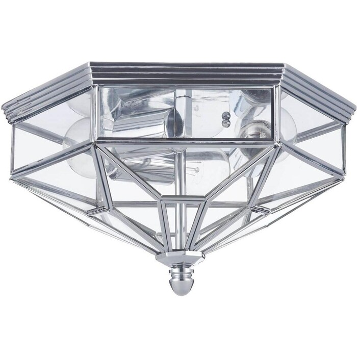 Потолочный светильник Maytoni H356-CL-03-CH встраиваемый светильник maytoni dl009 2 01 ch