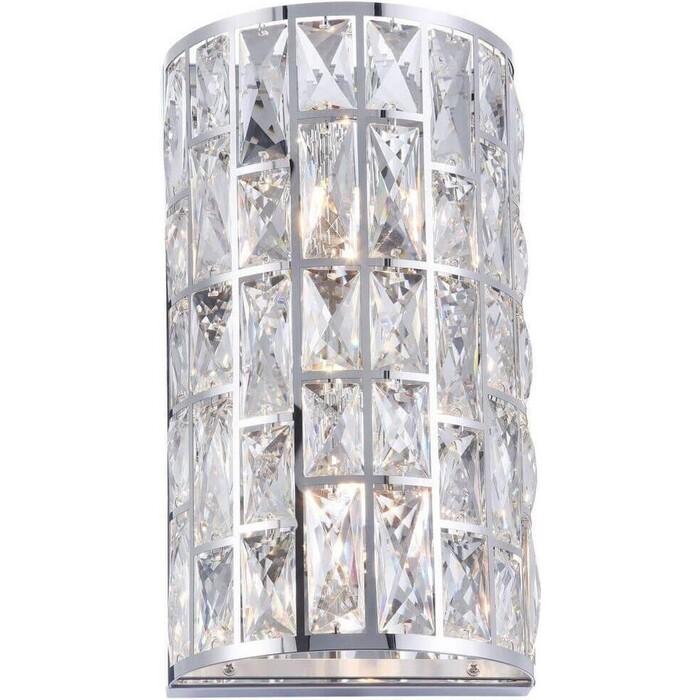 Настенный светильник Maytoni MOD184-WL-02-CH встраиваемый светильник maytoni dl009 2 01 ch