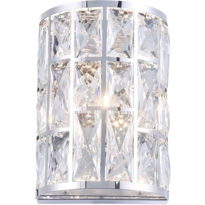 Настенный светильник Maytoni MOD184-WL-01-CH встраиваемый светильник maytoni dl009 2 01 ch