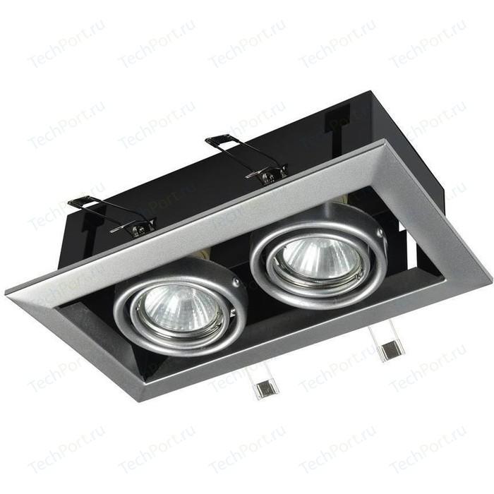 Встраиваемый светильник Maytoni DL008-2-02-S встраиваемый светильник maytoni dl009 2 01 ch