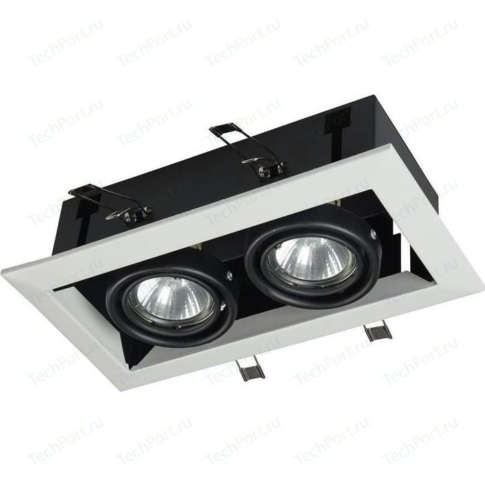 Встраиваемый светильник Maytoni DL008-2-02-W встраиваемый светильник maytoni dl009 2 01 ch