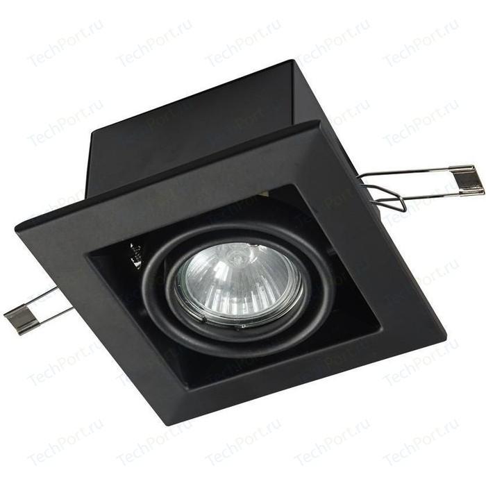 Встраиваемый светильник Maytoni DL008-2-01-B встраиваемый светильник maytoni dl009 2 01 ch