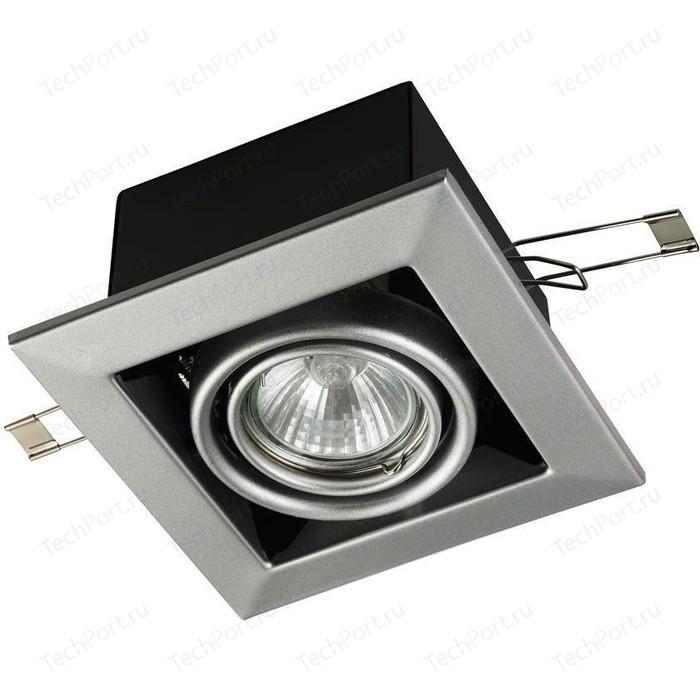 Встраиваемый светильник Maytoni DL008-2-01-S встраиваемый светильник maytoni dl009 2 01 ch