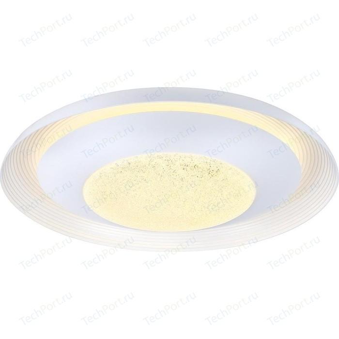 Потолочный светодиодный светильник с пультом Omnilux OML-48907-72 потолочный светодиодный светильник omnilux oml 48807 48