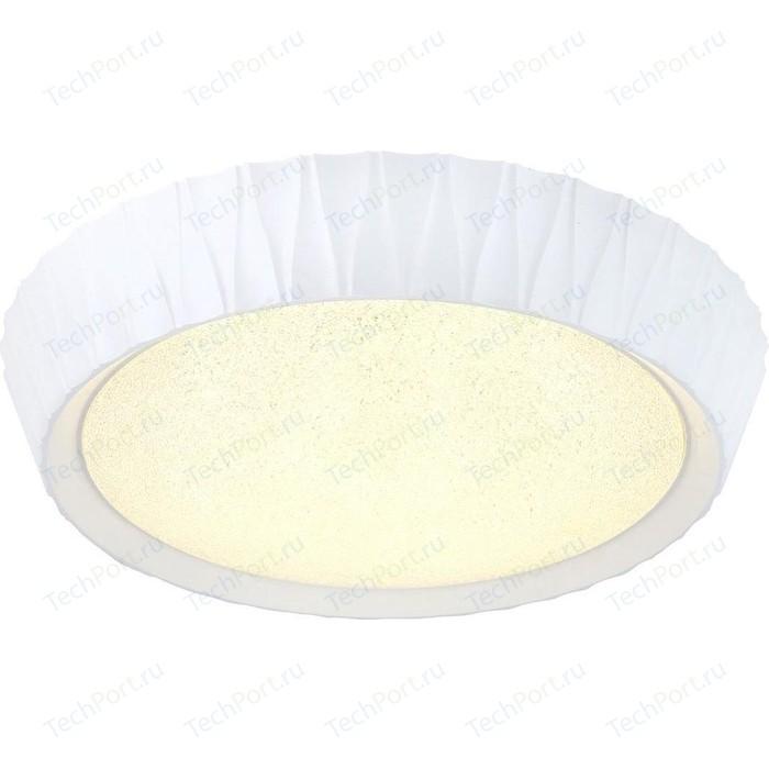 Потолочный светодиодный светильник с пультом Omnilux OML-49107-48 потолочный светодиодный светильник omnilux oml 48807 48