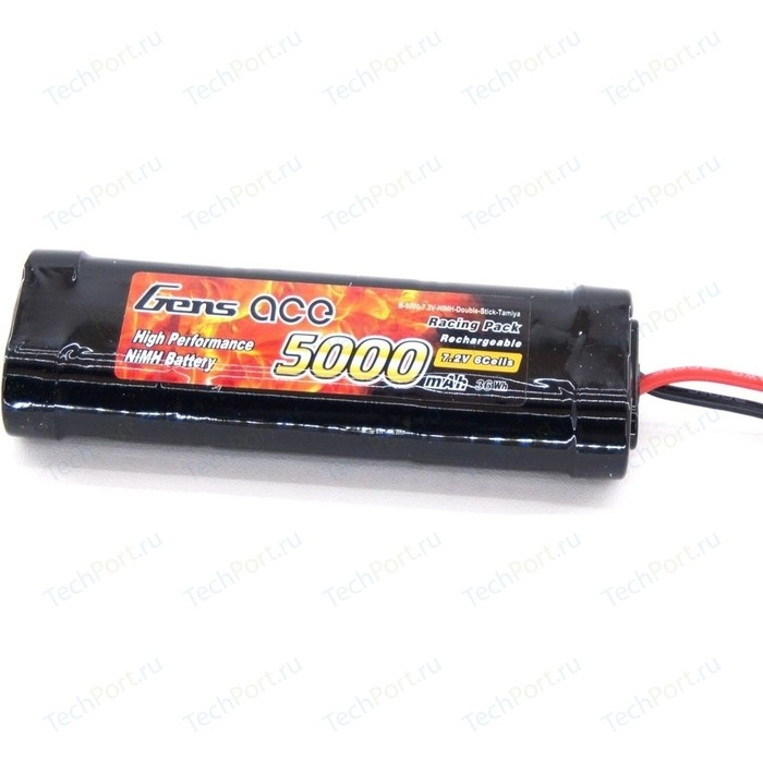 Аккумулятор Gens NiMh 7.2 V 5000 mAh (Tamiya)