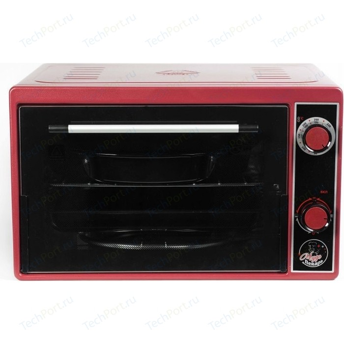 Мини-печь Чудо Пекарь ЭДБ 0122 красный