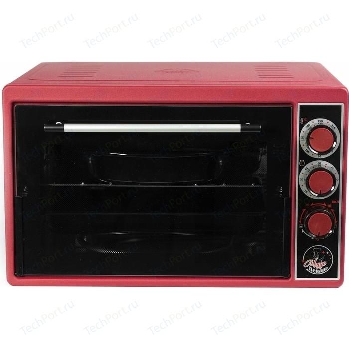 Мини-печь Чудо Пекарь ЭДБ 0124 красный