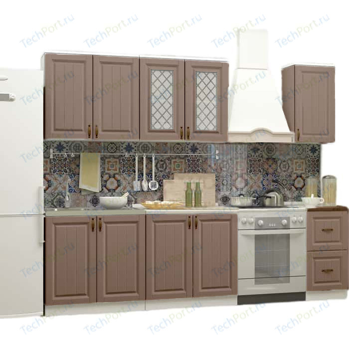 Кухня Миф Настя 2 м трюфель