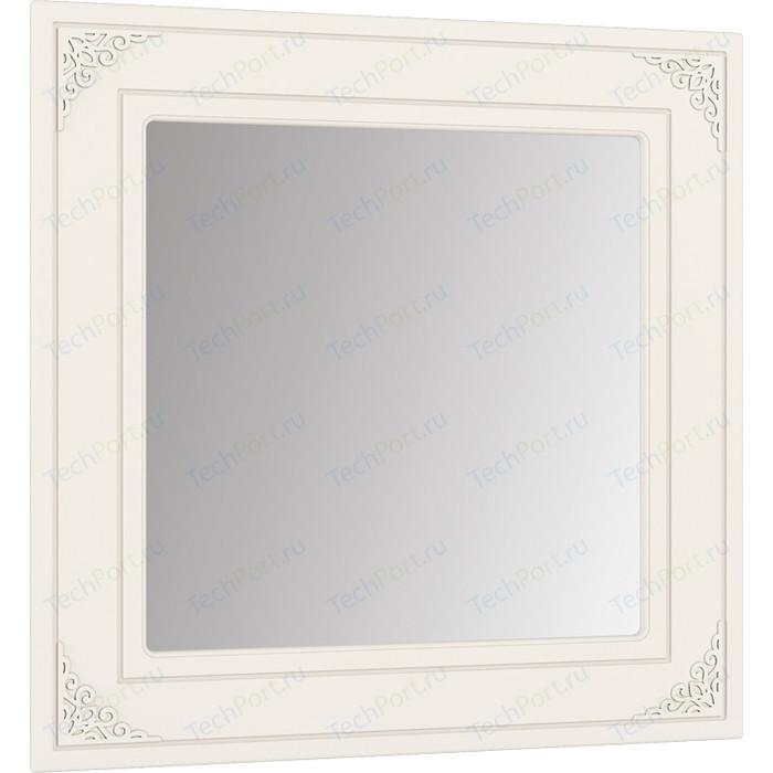 Зеркало Compass АС-44 белое дерево