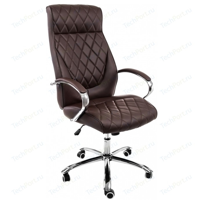 Компьютерное кресло Woodville Monte темно-коричневое