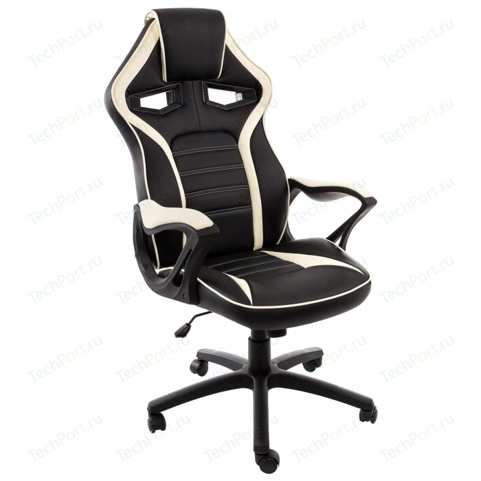 Компьютерное кресло Woodville Monza черное/бежевое monza 1 красное черное стул