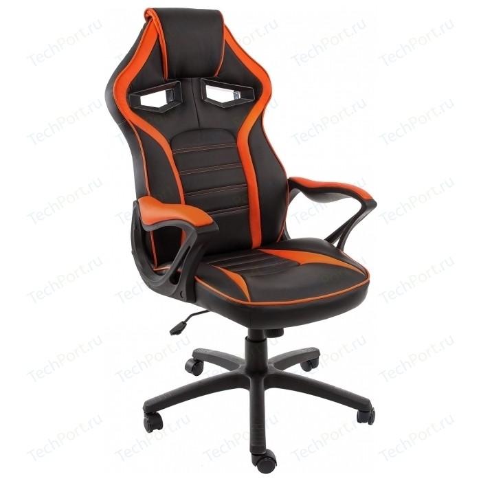Компьютерное кресло Woodville Monza черное/оранжевое monza 1 красное черное стул