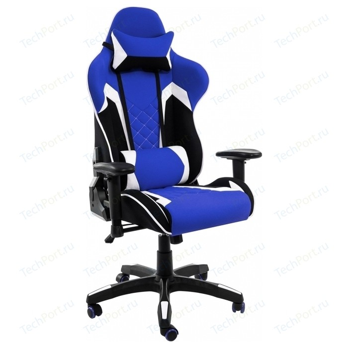 Компьютерное кресло Woodville Prime черное/синее