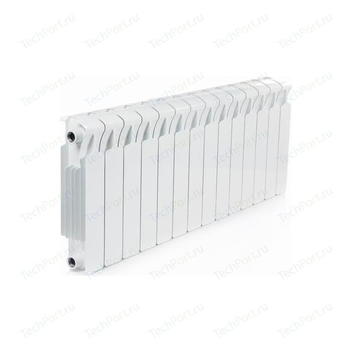 Радиатор отопления RIFAR MONOLIT 350 14 секций биметаллический боковое подключение (RM35014)