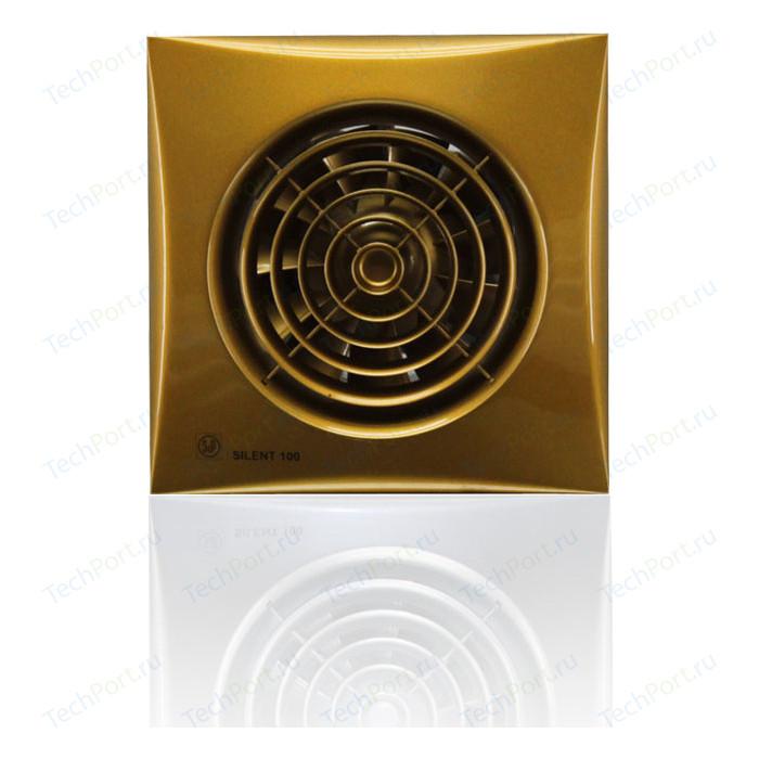 Вентилятор Soler&Palau осевой вытяжной с обратным клапаном D 100 (Silent100CZ Gold)