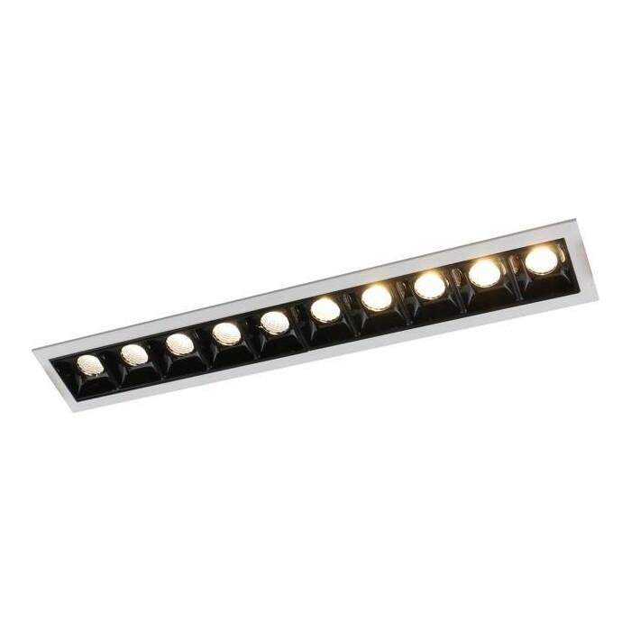 Встраиваемый светодиодный светильник Arte Lamp A3153PL-10BK