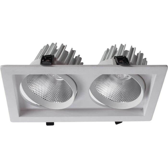 Встраиваемый светодиодный светильник Arte Lamp A7018PL-2WH