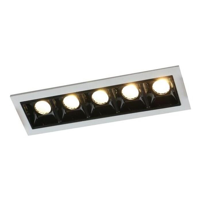 Встраиваемый светодиодный светильник Arte Lamp A3153PL-5BK