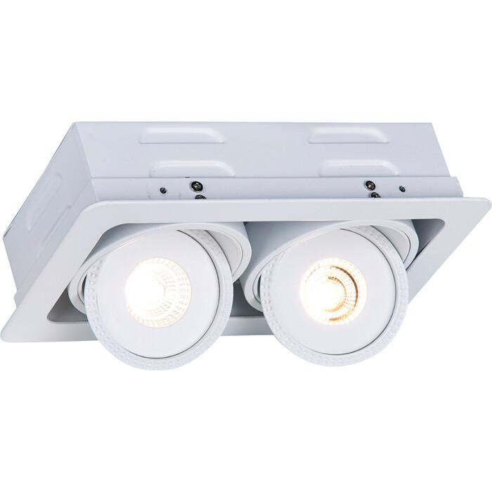Встраиваемый светодиодный светильник Arte Lamp A3007PL-2WH