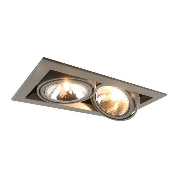 Встраиваемый светильник Arte Lamp A5949PL-2GY