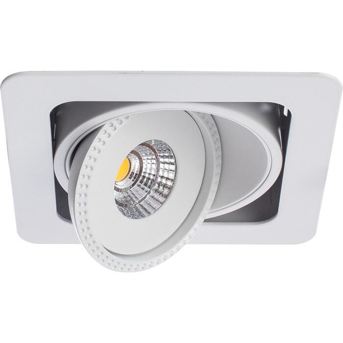 Встраиваемый светодиодный светильник Arte Lamp A3007PL-1WH