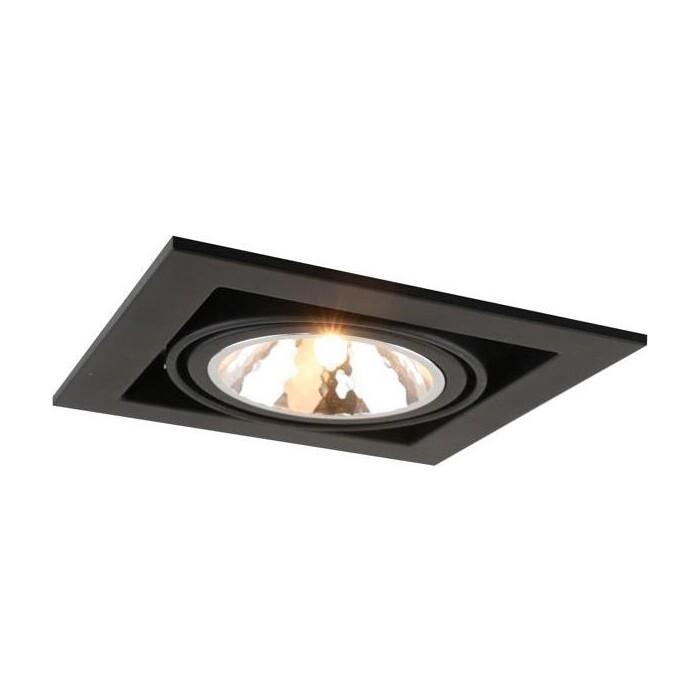 Встраиваемый светильник Arte Lamp A5949PL-1BK