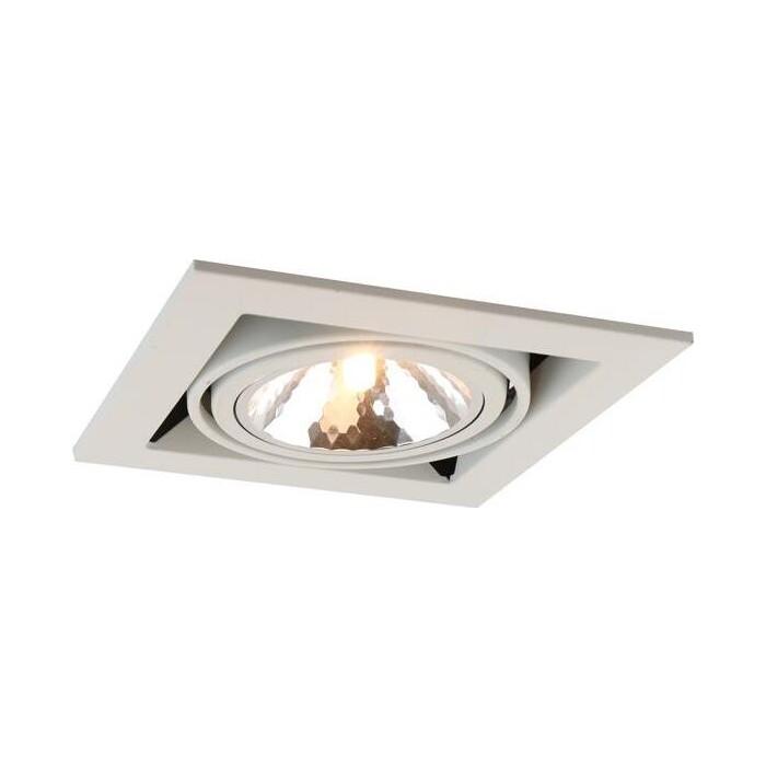 Фото - Встраиваемый светильник Arte Lamp A5949PL-1WH a2620pl 1wh