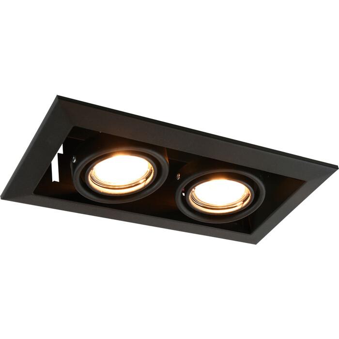 Встраиваемый светильник Arte Lamp A5941PL-2BK