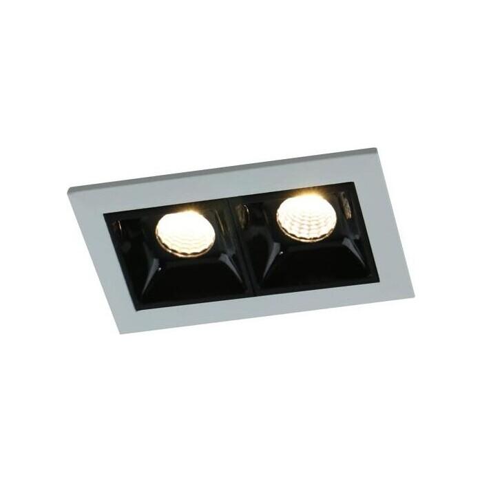 Встраиваемый светодиодный светильник Arte Lamp A3153PL-2BK
