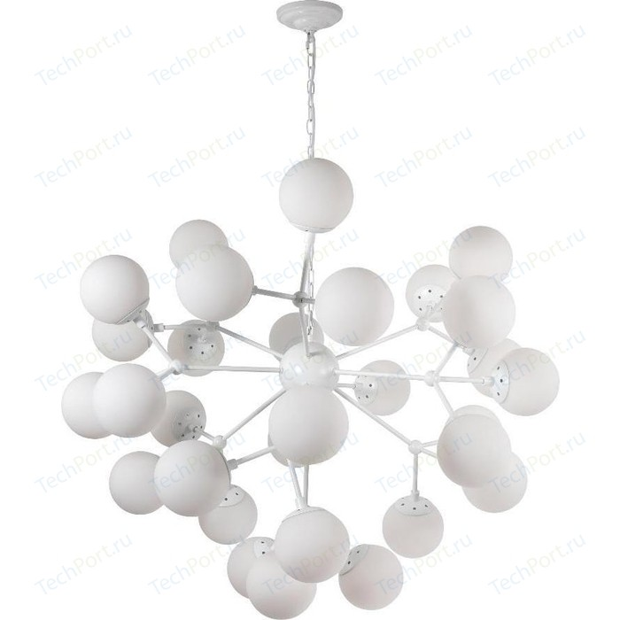 Подвесная люстра Crystal Lux Medea White SP30