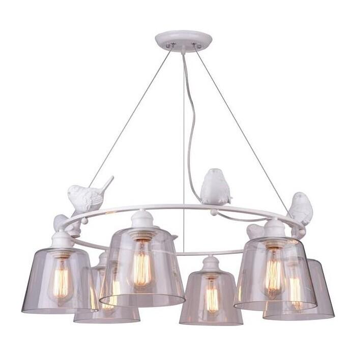 Подвесная люстра Arte Lamp A4289LM-6WH подвесная люстра arte lamp a4289lm 6wh