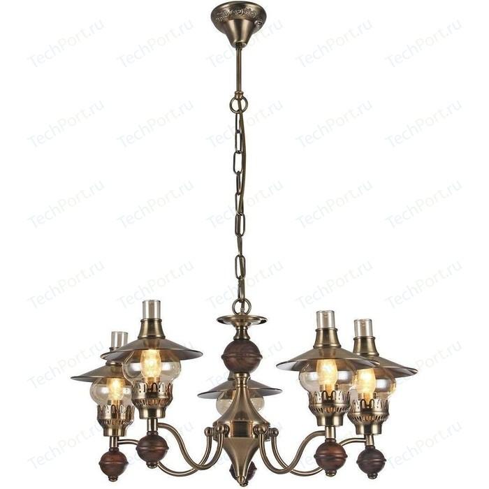 Подвесная люстра Arte Lamp A5664LM-5AB подвесная люстра arte lamp a2273lm 5ab