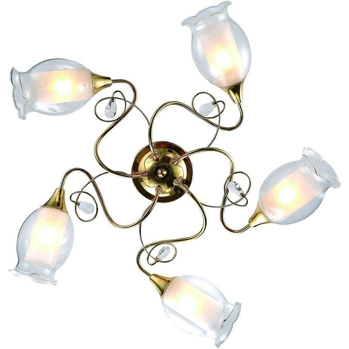 Потолочная люстра Arte Lamp A9289PL-5GO