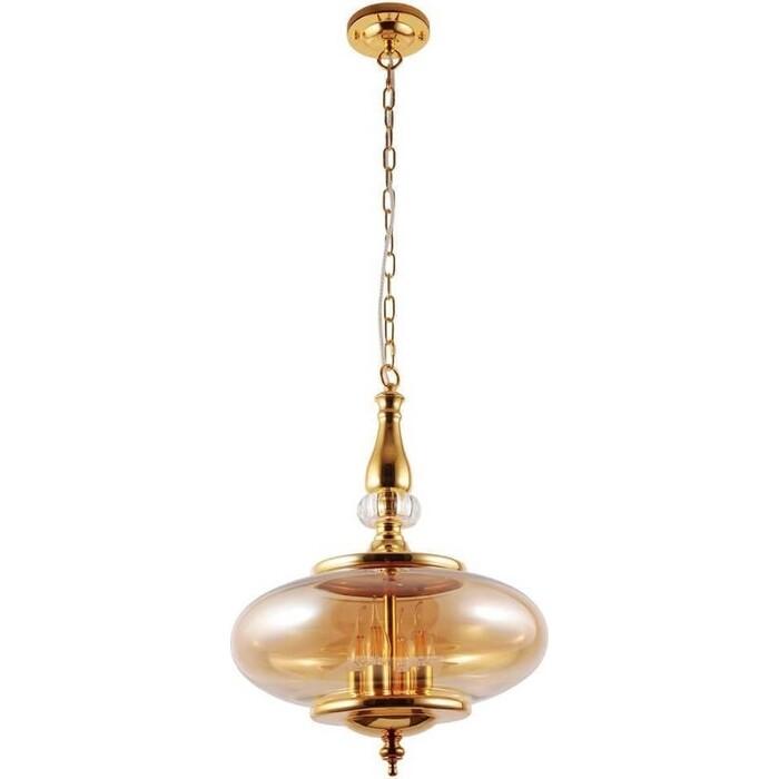 Подвесной светильник Crystal Lux Miel SP4 Gold